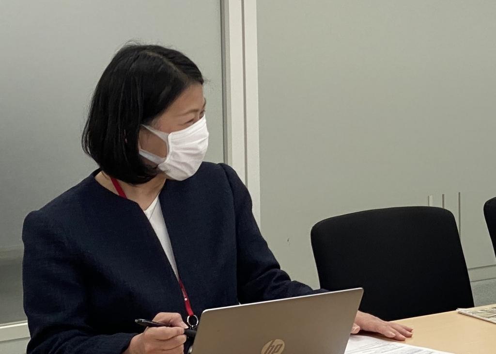 """""""SONPOリスクマネジメント株式会社様インタビューの様子"""""""