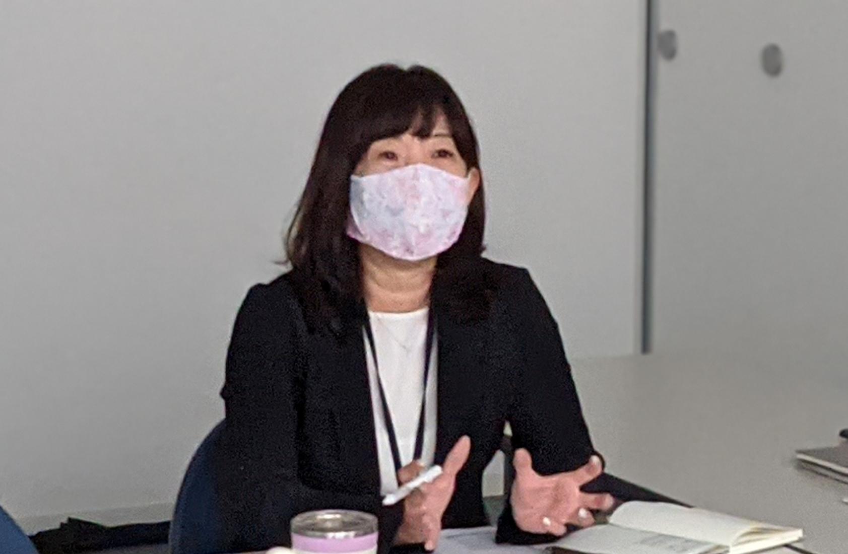 """""""株式会社ノーリツ様インタビューの様子"""""""